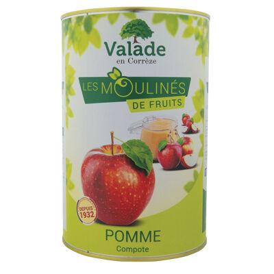 Compote pomme 5/1 4.25 kg (Valade en correze)