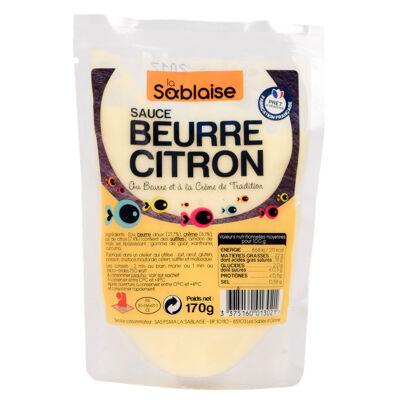 Sauce poisson beurre citron 170 g +3°c (La sablaise)