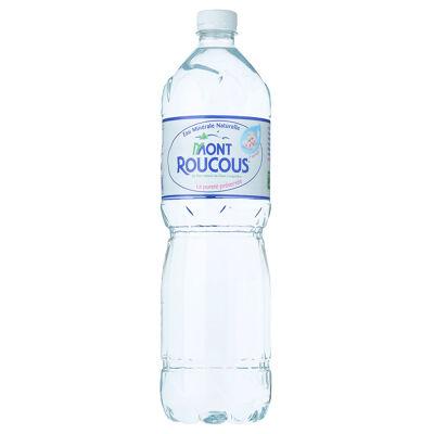 Eau minérale naturelle mont roucous bouteille 1,5 litre (Mont roucous)