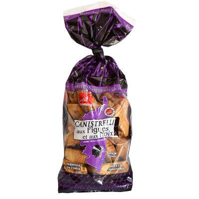 Canistrelli figues et noix 350 g (Biscuiterie d'afa)