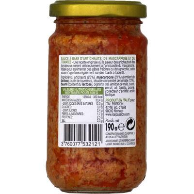 P&b artichauts tomates mascarpone 190g (Florelli)