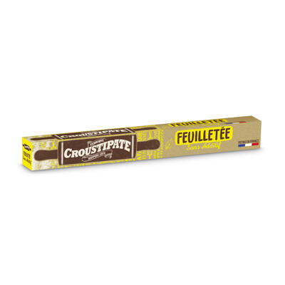 Crousti roul feuil naturlt mgv 230g 12ct (Croustipate)