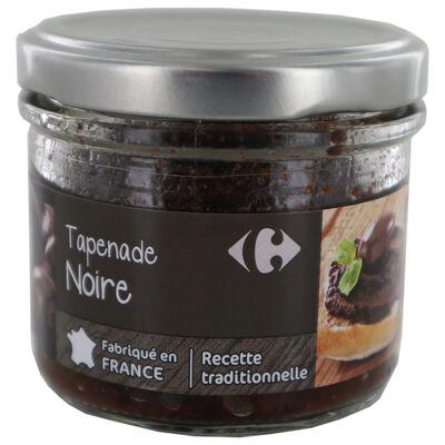 Tapenade noire carrefour selection 100g (Carrefour sélection)