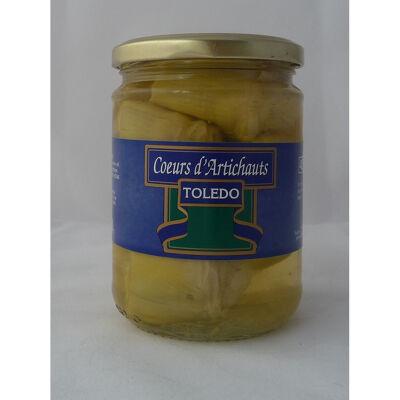 Toledo coeurs d'artichaut bocal 450 ml (Toledo)