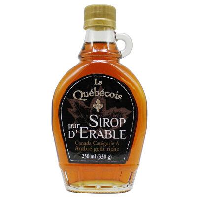 Sirop d'érable n°1 medium 250 ml (Le quebecois)