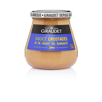 Pot de sauce crustaces 250g giraudet (Giraudet)
