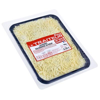Lasagne bolognaise boeuf charolaise 1kg (Auchan le traiteur)