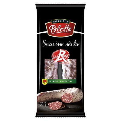 Saucisse sèche courbe pur porc label rouge (Môssieur polette)