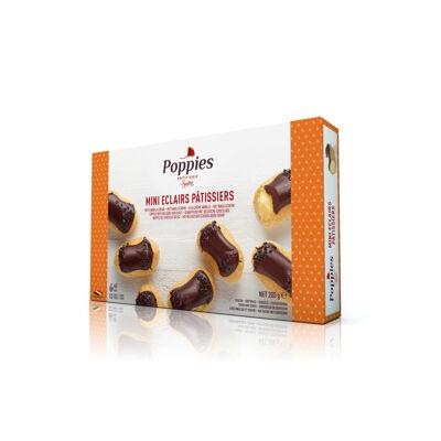 Mini éclairs pâtissiers à la crème vanille (Poppies)