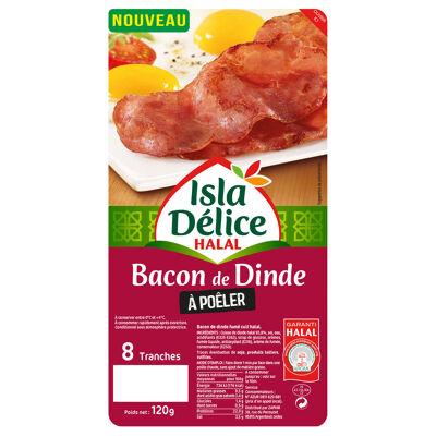 Id bacon dinde a poeler 8tr 120gr (Isla délice)