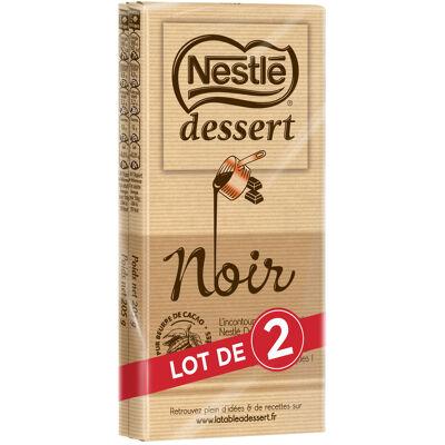 Nestle dessert chocolat noir lot de 2 x 205g (Nestle)
