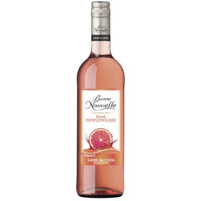 Bonne nouvelle rosé pamplemousse sans alcool 75cl (Bonne nouvelle)