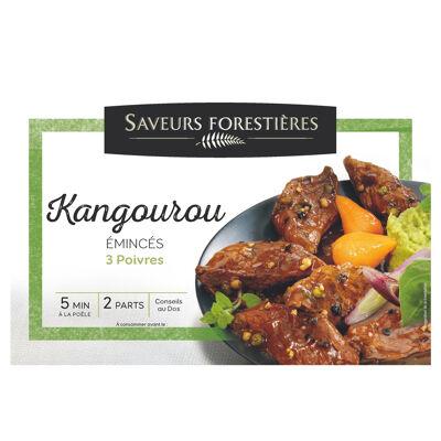 Saveurs forestière emincés kangourou 3 poivres 250g (Saveurs forestières)
