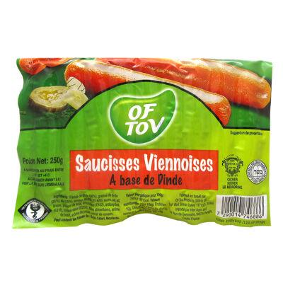 Saucisses viennoises of tov 250 gr (Of tov)