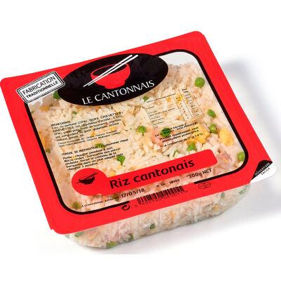 Barquette de riz cantonais (Le cantonnais)