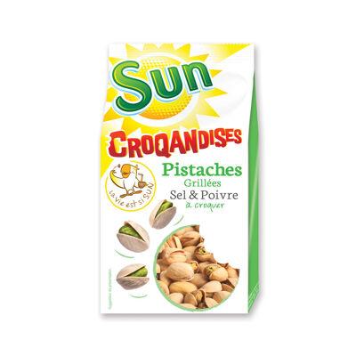 Pist.coq.sel&poivre sachet 250gr croqandises (Croquandises)