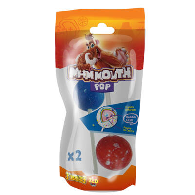 Duo mammouth pop 122gr (Mammouth tétine)