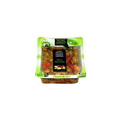 Olive verte cassee piquante (Tropic apero)