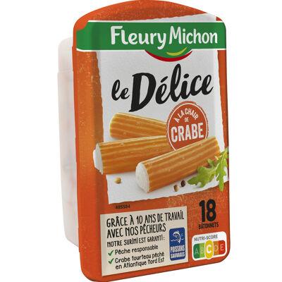 18 délices de surimi à la chair de crabe (Fleury michon)
