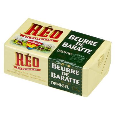 Beurre de baratte 1/2 sel , 250g (Réo)