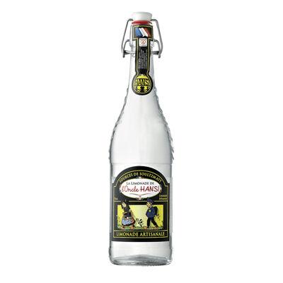 Limonade hansi artisanale 75cl bouteille bouchon mécanique verre perdu (Limonades de l'oncle hansi)