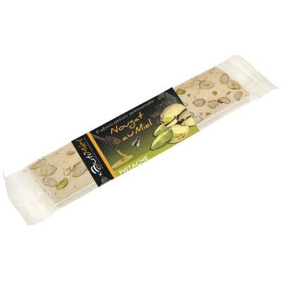 Nougat au miel et aux pistaches 80gr (Butimiel)