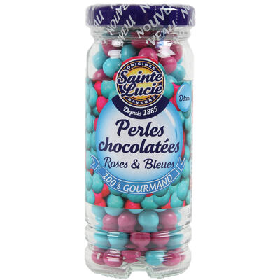 Perles roses & bleues flacon de 72g (Sainte lucie)
