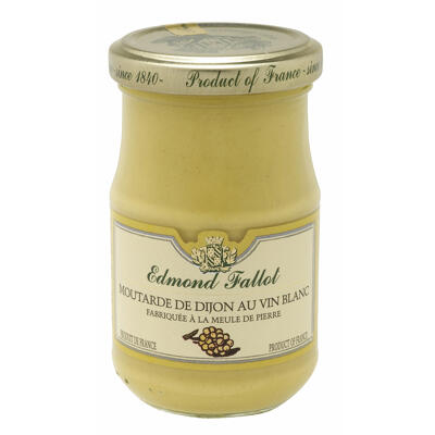 Moutarde au vin blanc 210g (Edmond fallot)