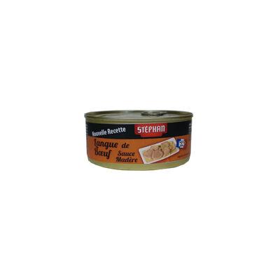 Langue de boeuf sauce madère 1/3 stéphan 275g (Stephan)
