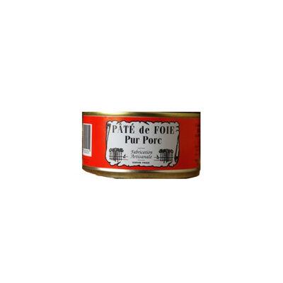 Pâté de foie (pur porc) boite 180grs (Conserverie duplaceau)