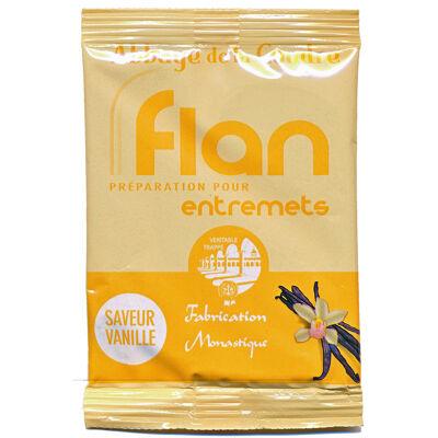 Flan - préparation pour entremets - saveur vanille (Véritable trappe)