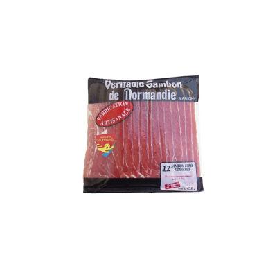 Jambon fume de normandie 12 tranches 420 g (Jambons du bocage)