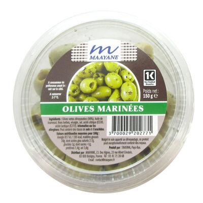 Olives marinees 150g (Maayane)