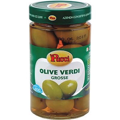 Olives vertes géantes 310g (Pucci)