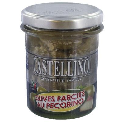 Olives vertes farcies au pecorino 180g (Castellino)