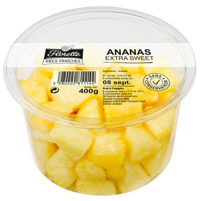 Ananas morceaux extra sweet 400 g (Florette idées fraiches)
