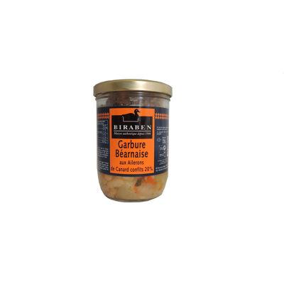Bl 720 g garbure bearnaise aux ailerons de canard confits 20 % (Sas biraben)