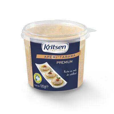 Tarama premium aux oeufs de cabillaud 120 grammes (Kristen)