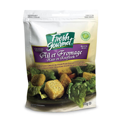 Croutons ail et fromage 80gx12 (Fresh gourmet)