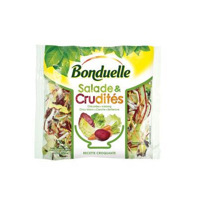 Salade & crudités - recette croquante (Bonduelle)