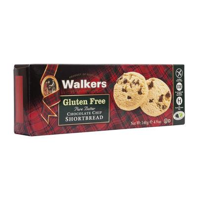 Shortbread choc chip gf 140g - walkers - 140g (Walkers)