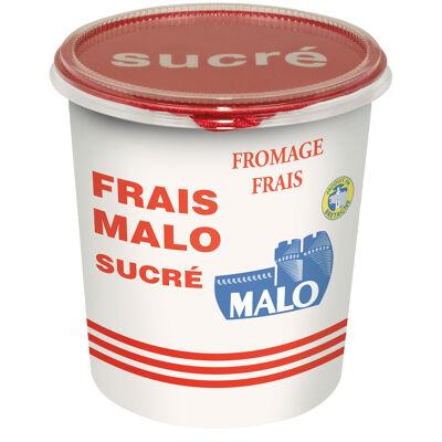 Fromage frais 7% de matières grasse sur produit fini, sucré (Malo)