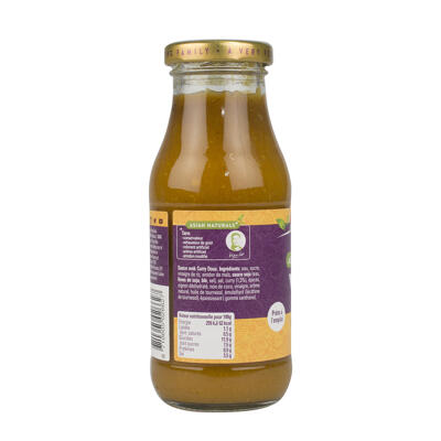 Wok curry doux x240ml (Go tan)