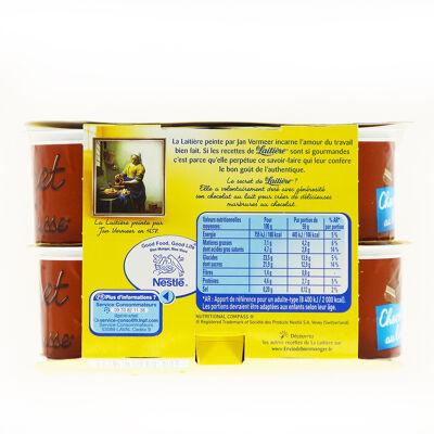 La laitiere secret de mousse chocolat au lait 8x59g (La laitiere)