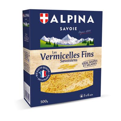 Vermicelles fins 500g alpina savoie (Alpina savoie)