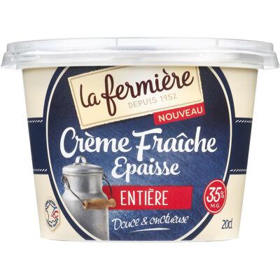 Crème fraïche epaisse 20 cl (La fermière)