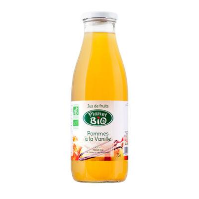 Jus de pommes à la vanille bio 75cl (Planet bio)
