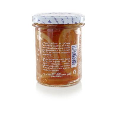 Marmelade d'orange douce d'espagne en tranches 280 g (Albert ménès)