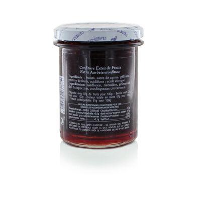 Confiture extra de fraise 280 g (Albert ménès)