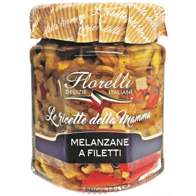 Melanzane a filetti 200g (Florelli)